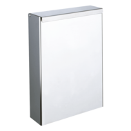 465-Wall-mounted stainless steel bin with lid, 4.5 litres