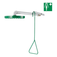 9108-Wall-mounted safety shower