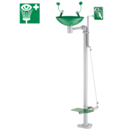 9201-Free-standing eye wash station