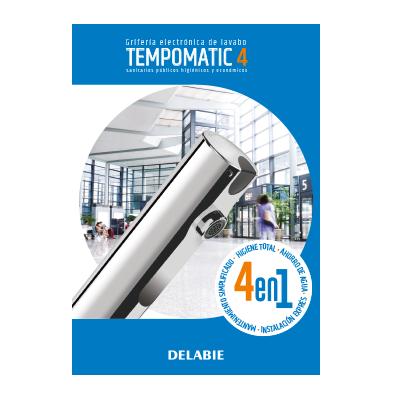 Grifería electrónica de lavabo TEMPOMATIC 4